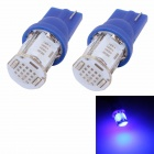 MZ T10 5W 350lm COB W5W Blue Car License Plate Light / Steering Light / Clearance Lamp (12V / 2PCS)
