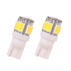 MZ T10 5W 240lm 10-SMD 5630 LED Varm Hvit Bil Clearance / Tail Lamps