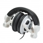 Havit HV-ST039 Lightweight Adjustable Stereo Music Headphones w/ Microphone / Bass Shocked - Black
