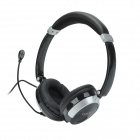 Havit HV-H603D Lightweight Fashion Headphones w/ Powerful Bass & Residual Sound - Black