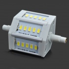 HZT-8032 R7S 5W 450lm 15-5630 SMD LED Cool White Corn Lamp (85~265V)
