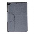 Kinston Oracle Pattern PU Leather Case Cover Stand w/ Card Slot for RETINA IPAD MINI - Grey