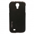 Genuine Ks Idea Korean SAMSUNG GALAXY S4 Skinny Leather Case Black (Made in Korea) - CA-S4PTSBK