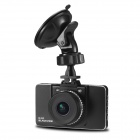 "BLACKVIEW BL350 Full HD 1080P 3.0"" TFT 5.0MP COMS G-sensor IR Night Vision Car DVR - Black + Sliver"