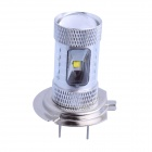 H7 30W 500lm 6500K 6-LED White Car Foglight / Farol (DC 12 ~ 24V)