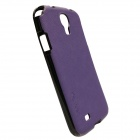 Genuine Ks idea CA-S4PTSPU Skinny Leather Case for SAMSUNG GALAXY S4 - Dark Purple (Made in Korea)