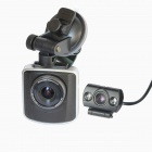 "TENYING AT11DB H.264 2.5"" TFT 5.0 MP CMOS 168' Wide Angle Car DVR w/ G-Sensor/AV-IN/ HDMI"