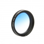 DUALANE C00855 37mm Gradually Filter + Lens Hood + Lens Cap Kit for GoPro Hero 3 / 3+ - Blue