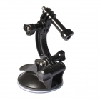 DULANE C00057 80CM Powerful Suction Cup Car Holder for GoPro Hero 2 / 3 / 3+ - Black