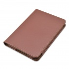 "Litchi mønster beskyttende PU Leather Case Cover for Tolino Vision 6 "" - Brun"