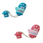 Genuine Team C134 USB 2.0 16 GB - TT13416GG01 x 2pcs (1 Pink & 1 Green)