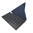 "V3.0 BK168 7 ""Bluetooth 59-Key Keyboard w / estuche protector de cuero de la PU para iOS / Android / Windows"