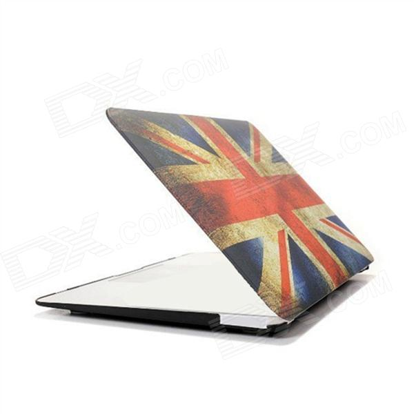 Angibabe Retro UK Flag Hard Shell Full Protective Cover Case for 11.6