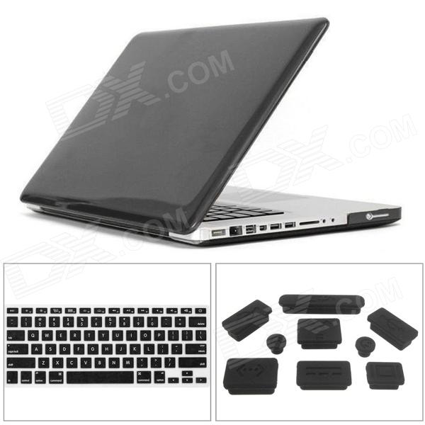 все цены на Mr.northjoe 3-in-1 Crystal Hard Case + Keyboard Cover + Anti-dust Plug for MACBOOK PRO 15.4