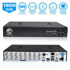 JOOAN JA-3216T P2P 16-Channels H.264 Compress Cloud Service Remote Monitoring DVR