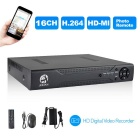 JOOAN 3216T 16CH H.264 CCTV Security Surveillance DVR P2P Cloud Remote Digital Video Recorder