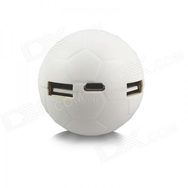 Janse 2014 Football Shape 4-Port USB 2.0 Hub - White