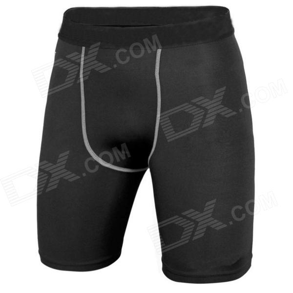 men-sports-dacron-spandex-pants-for-running-climbing-fitness-exercise-black-l