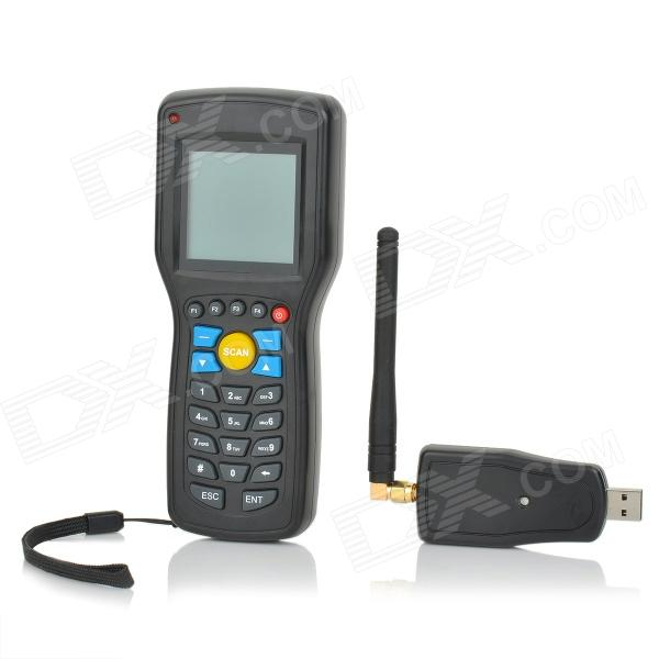 "Convenient 2.3"" SCreen Handheld Wired Barcode Data Scanner Collector - Black Denton Sale of goods"