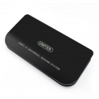 UNITEK Y-3704 USB 3.0 Multifunction Expansion HUB w/ HDMI / VGA / LAN / Audio - Black