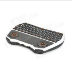 Rii RT-MWK28 Mini Keyboard + 6 ejes giroscopio Air Mouse + Touchpad para TV BOX - Blanco + Negro