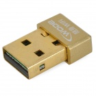 Wode SL-1511C Mini Portable USB 2.0 Powered Wi-Fi Access Point Adapter - Golden