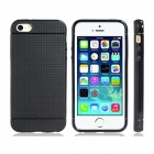 Novelty Holes Style TPU Soft Case for IPHONE 5 / 5S - Black