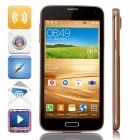 "MP-I9600(GT-I9600) Dual-Core Android 4.4.2 GSM Bar Phone w/ 5.0"", Wi-Fi, aQuad-band, FM - Champagne"