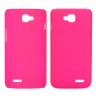 EPGATE A00487 Protective Plastic Back Case for LG Optimus L90 D410 D405 - Deep Pink
