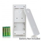 SP62 DIY Wireless Solar Energy / AA Battery Powered Alarm - Silver (3 x AA)