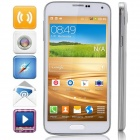 "MP-I9600(GT-I9600) MTK6572 Dual-Core Android 4.4.2 GSM Bar Phone w/ 5.0"" Screen, Wi-Fi, FM - White"