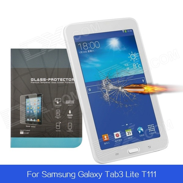 Angibabe Tempered Glass Anti Shatter Screen Protector for Samsung Galaxy Tab 3 Lite T111