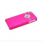 Protective Silicone Back Case for IPHONE 4 / 4S - Dark Pink