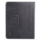 9.7 Inch PU Case w/ Stand for PiPO M6 Tablet PC - Black