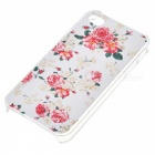 Kinston Blooming Flowers of the Rattan Pattern Matte Designed PC Hard Case for IPHONE 4 / 4S