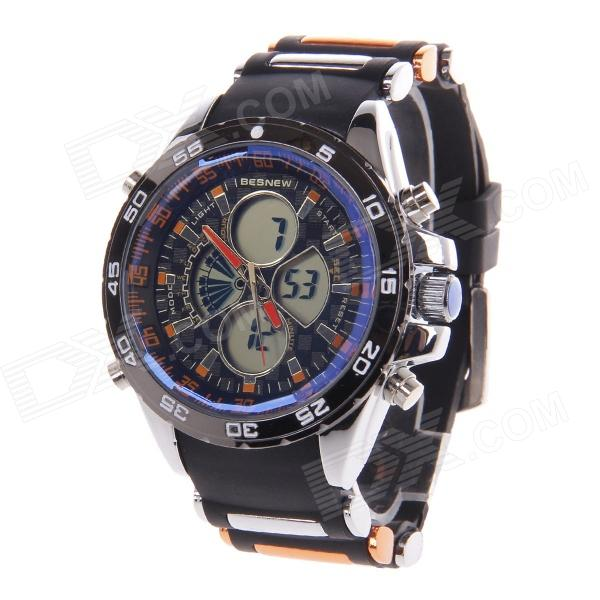 BESNEW BN-0798 Men's Multifunctional Dual Core Rubber Band Sport Wrist Watch (1 x SR626) Visalia For sale ad