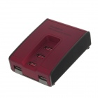 5-Port USB Charging Station w/ Cable for Tablet PC, Mobile Phone, Power Bank, Digital Camera