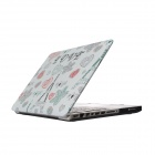 "RFH Love Tower Pattern Protective Full Body Matte Case for MACBOOK PRO 13.3"" - Multicolored"