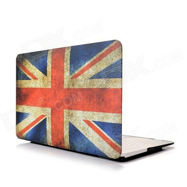 Angibabe Retro UK Flag Rubberized Matte Hard Case Cover for 13.3