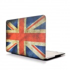 "Angibabe Retro UK Flag Rubberized Matte Hard Case Cover for 13.3"" Apple MACBOOK AIR"