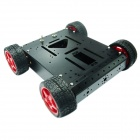 Robotbase RB-13K007 AS-4WD Aluminum Alloy Mobile Robot - Black