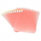 "DIY Universal Matte Screen Protector / Frosted Film for 9"" Screen Tablet PC - (10 PCS)"
