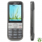 "Refurbished NOKIA C5 Symbian OS WCDMA Bar Phone w/ 2.2"", GPS, Bluetooth and FM - Black"