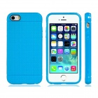 Novelty Holes Style TPU Case for IPHONE 5 / 5S - Blue