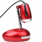 BLUELOVER T1200 USB 2.0 Wired 5MP HD Free Drive Camera w/ Microphone - Red