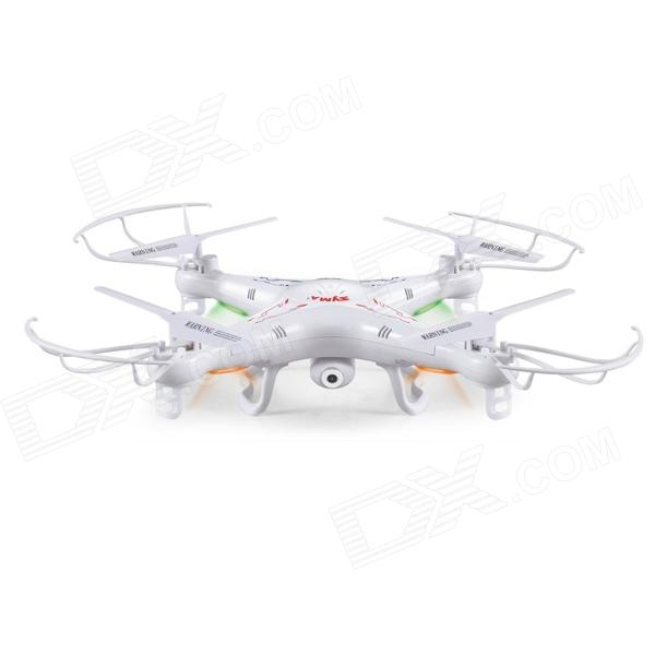 SYMA X5C 2.4GHz 4-CH Radio Control UFO Quadcopter with Gyro & 2.0MP Camera - White