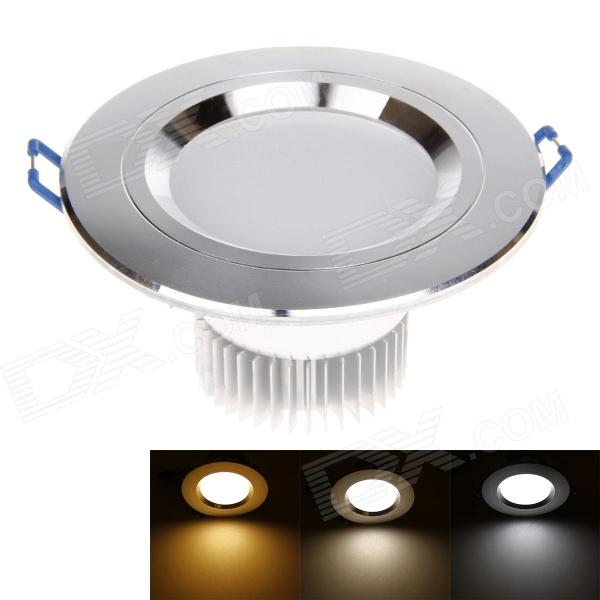3W 300lm 6000K 6 x SMD 5730 LED Warm White Light Ceiling Lamp - Silver (AC 95~265V)