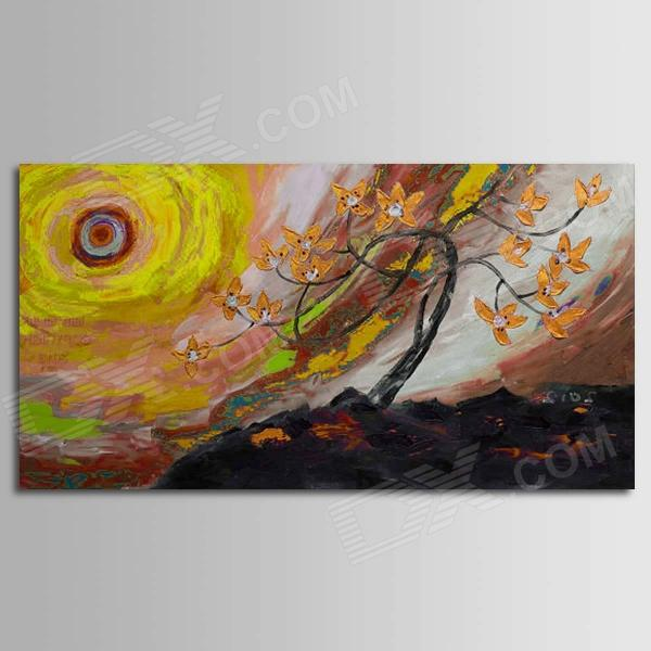 Iarts DX0613-04 Landscape Trees in the Sun Hand Painted Oil Painting - Multicolored the trees trees the garden of jane delawney lp