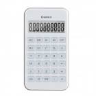 "COMIX C-4S Portable Functional 2.2"" LCD 10-Digit Calculator - White (5 PCS)"