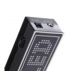 CHEZHIJING SW-3093 Digital Voice w/ Peak Hold LED Level Light - Black
